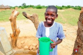Drop in the Bucket Africa water charity, completed wells, Father Amoding Primary School Well Uganda-35