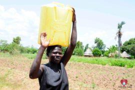 Drop in the Bucket Africa water charity, completed wells, Nyaguo Agonga Borehole Well Uganda-01