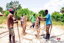 Drop in the Bucket Africa water charity, completed wells, Nyaguo Agonga Borehole Well Uganda-02