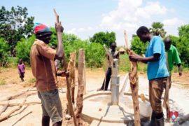 Drop in the Bucket Africa water charity, completed wells, Nyaguo Agonga Borehole Well Uganda-03