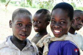 Drop in the Bucket Africa water charity, completed wells, Nyaguo Agonga Borehole Well Uganda-06