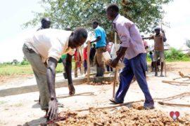 Drop in the Bucket Africa water charity, completed wells, Nyaguo Agonga Borehole Well Uganda-10