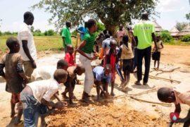 Drop in the Bucket Africa water charity, completed wells, Nyaguo Agonga Borehole Well Uganda-13