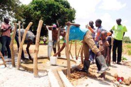 Drop in the Bucket Africa water charity, completed wells, Nyaguo Agonga Borehole Well Uganda-14
