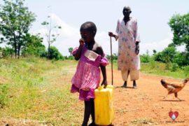 Drop in the Bucket Africa water charity, completed wells, Nyaguo Agonga Borehole Well Uganda-17
