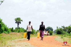 Drop in the Bucket Africa water charity, completed wells, Nyaguo Agonga Borehole Well Uganda-18