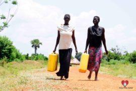 Drop in the Bucket Africa water charity, completed wells, Nyaguo Agonga Borehole Well Uganda-20