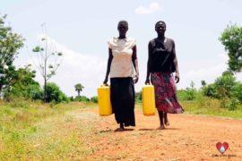 Drop in the Bucket Africa water charity, completed wells, Nyaguo Agonga Borehole Well Uganda-22