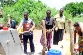 Drop in the Bucket Africa water charity, completed wells, Nyaguo Agonga Borehole Well Uganda-27