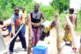 Drop in the Bucket Africa water charity, completed wells, Nyaguo Agonga Borehole Well Uganda-28