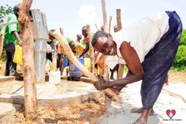 Drop in the Bucket Africa water charity, completed wells, Nyaguo Agonga Borehole Well Uganda-30