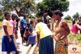 Drop in the Bucket Africa water charity, completed wells, Nyaguo Agonga Borehole Well Uganda-33