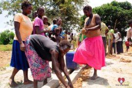 Drop in the Bucket Africa water charity, completed wells, Nyaguo Agonga Borehole Well Uganda-34