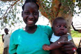 Drop in the Bucket Africa water charity, completed wells, Nyaguo Agonga Borehole Well Uganda-35