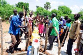Drop in the Bucket Africa water charity, completed wells, Nyaguo Agonga Borehole Well Uganda-39