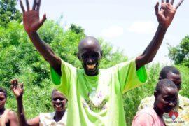 Drop in the Bucket Africa water charity, completed wells, Nyaguo Agonga Borehole Well Uganda-43