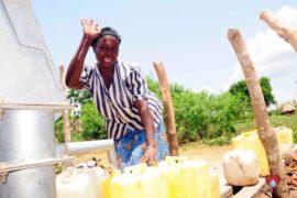 Drop in the Bucket Africa water charity, completed wells, Nyaguo Agonga Borehole Well Uganda-44