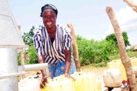Drop in the Bucket Africa water charity, completed wells, Nyaguo Agonga Borehole Well Uganda-45
