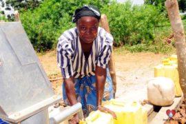 Drop in the Bucket Africa water charity, completed wells, Nyaguo Agonga Borehole Well Uganda-46