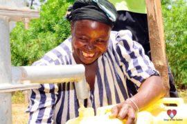 Drop in the Bucket Africa water charity, completed wells, Nyaguo Agonga Borehole Well Uganda-47