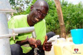 Drop in the Bucket Africa water charity, completed wells, Nyaguo Agonga Borehole Well Uganda-51