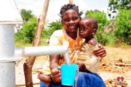 Drop in the Bucket Africa water charity, completed wells, Nyaguo Agonga Borehole Well Uganda-52