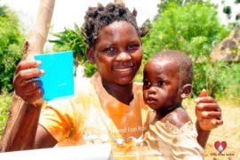 Drop in the Bucket Africa water charity, completed wells, Nyaguo Agonga Borehole Well Uganda-56