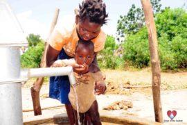 Drop in the Bucket Africa water charity, completed wells, Nyaguo Agonga Borehole Well Uganda-57