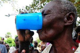 Drop in the Bucket Africa water charity, completed wells, Nyaguo Agonga Borehole Well Uganda-60