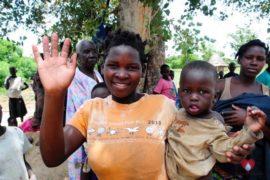 Drop in the Bucket Africa water charity, completed wells, Nyaguo Agonga Borehole Well Uganda-71