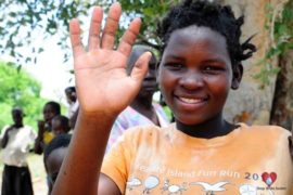 Drop in the Bucket Africa water charity, completed wells, Nyaguo Agonga Borehole Well Uganda-72
