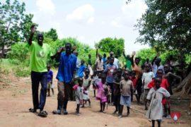 Drop in the Bucket Africa water charity, completed wells, Nyaguo Agonga Borehole Well Uganda-73