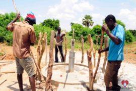 Drop in the Bucket Africa water charity, completed wells, Nyaguo Agonga Borehole Well Uganda-75