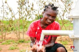 Drop in the Bucket Africa water charity, completed wells, Rarak Borehole Well Uganda-10