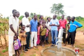 Drop in the Bucket Africa water charity, completed wells, Rarak Borehole Well Uganda-16