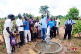 Drop in the Bucket Africa water charity, completed wells, Rarak Borehole Well Uganda-19