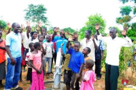 Drop in the Bucket Africa water charity, completed wells, Rarak Borehole Well Uganda-22