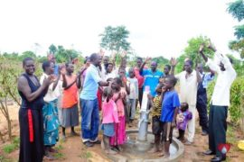 Drop in the Bucket Africa water charity, completed wells, Rarak Borehole Well Uganda-25
