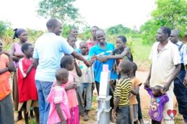 Drop in the Bucket Africa water charity, completed wells, Rarak Borehole Well Uganda-26