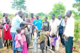 Drop in the Bucket Africa water charity, completed wells, Rarak Borehole Well Uganda-27