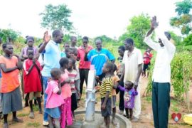 Drop in the Bucket Africa water charity, completed wells, Rarak Borehole Well Uganda-28