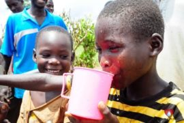 Drop in the Bucket Africa water charity, completed wells, Rarak Borehole Well Uganda-53