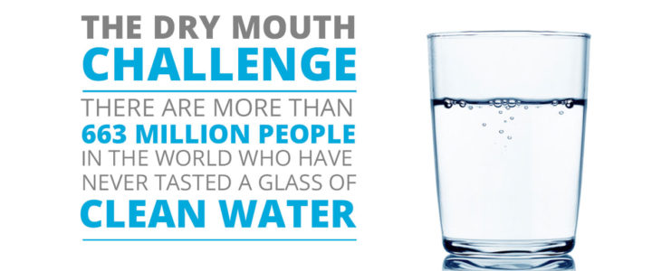 Los Angeles based water and sanitation non-profit organization introduce the Dry Mouth Challenge #DryMouthChallenge