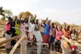 Drop in the Bucket Uganda water well Atigo village 96
