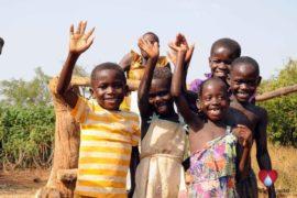 Drop in the Bucket Uganda water well Obangin village 13