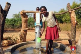 Drop in the Bucket Uganda water well Obangin village 25