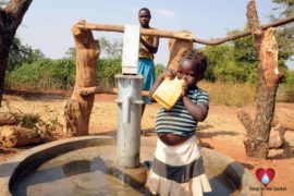 Drop in the Bucket Uganda water well Obangin village 29