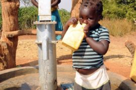 Drop in the Bucket Uganda water well Obangin village 33