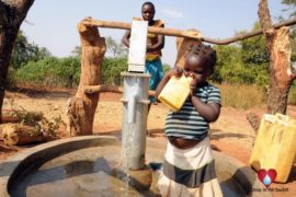 Drop in the Bucket Uganda water well Obangin village 35