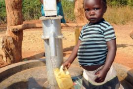 Drop in the Bucket Uganda water well Obangin village 38